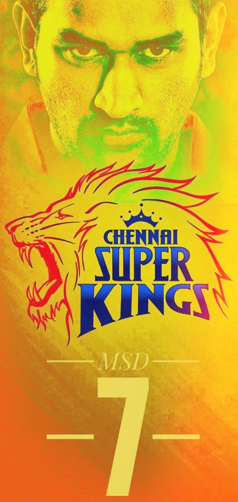 Chennai Super Kings MS Dhoni