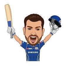 Mumbai Indians celebrating Player